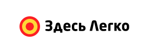 Логотип Здесь легко